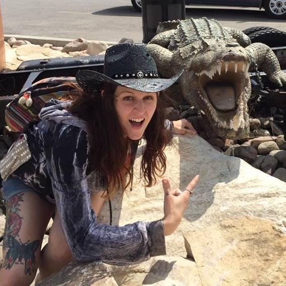 i'm also a crocodile hunter