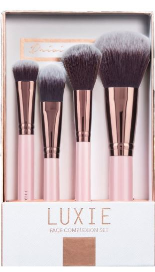 Luxie brushes, $35
