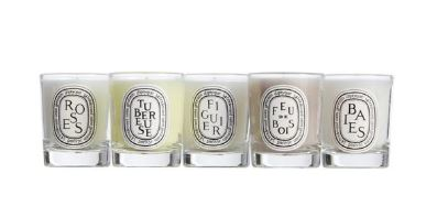 Diptyque candle set, $55