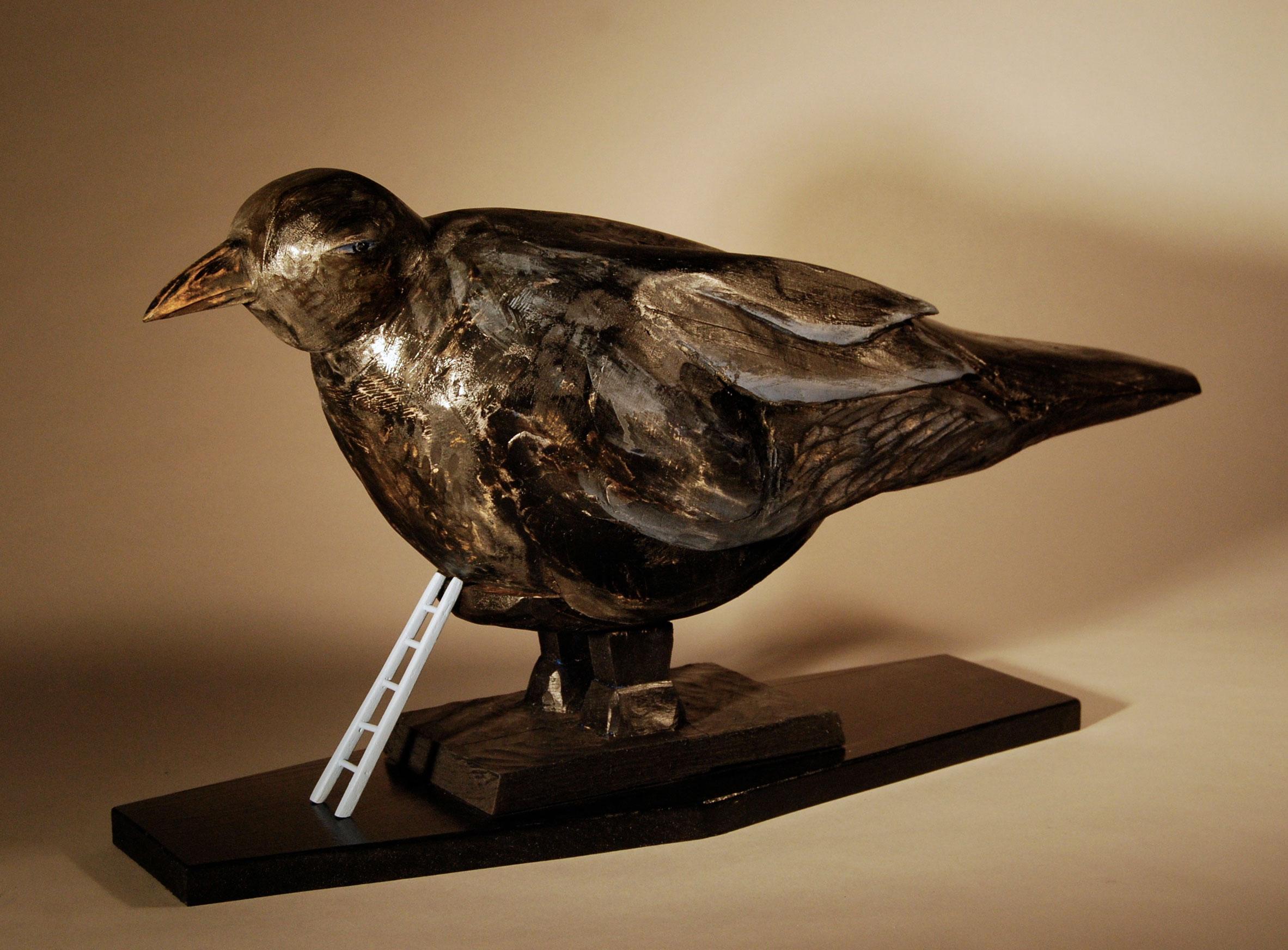 """Cargo Crow, 2011 13""""x27""""x8"""""""