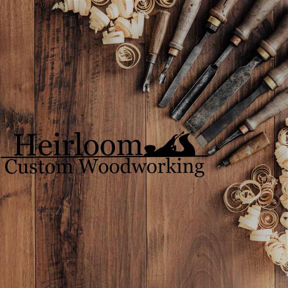 custom order — heirloom custom woodworking