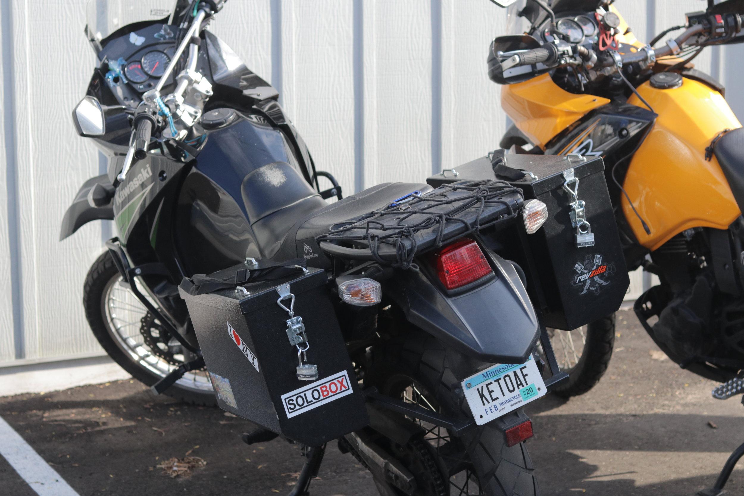 Brenda Zorn's Motorcycle