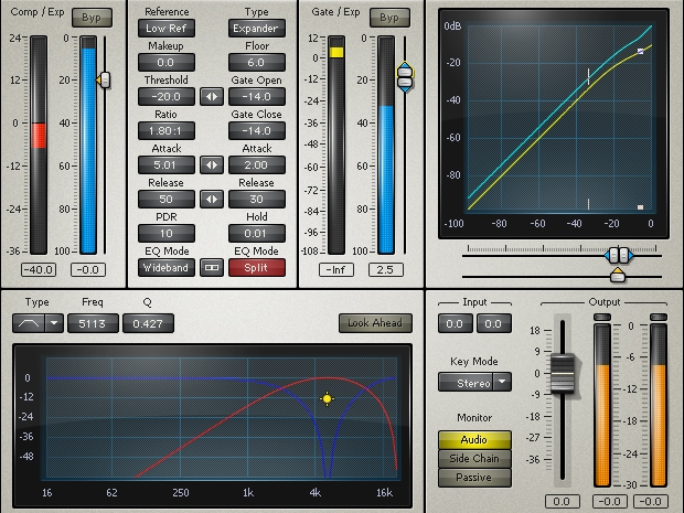 Gates and Expanders - Easily fix noise and dynamics issues with gates and expanders.