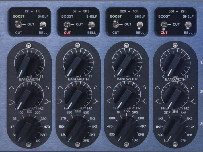 Frequency Range - Employ band limiting, equal loudness contours and EQ Yin and Yang to achieve a mastery of parametric equalization