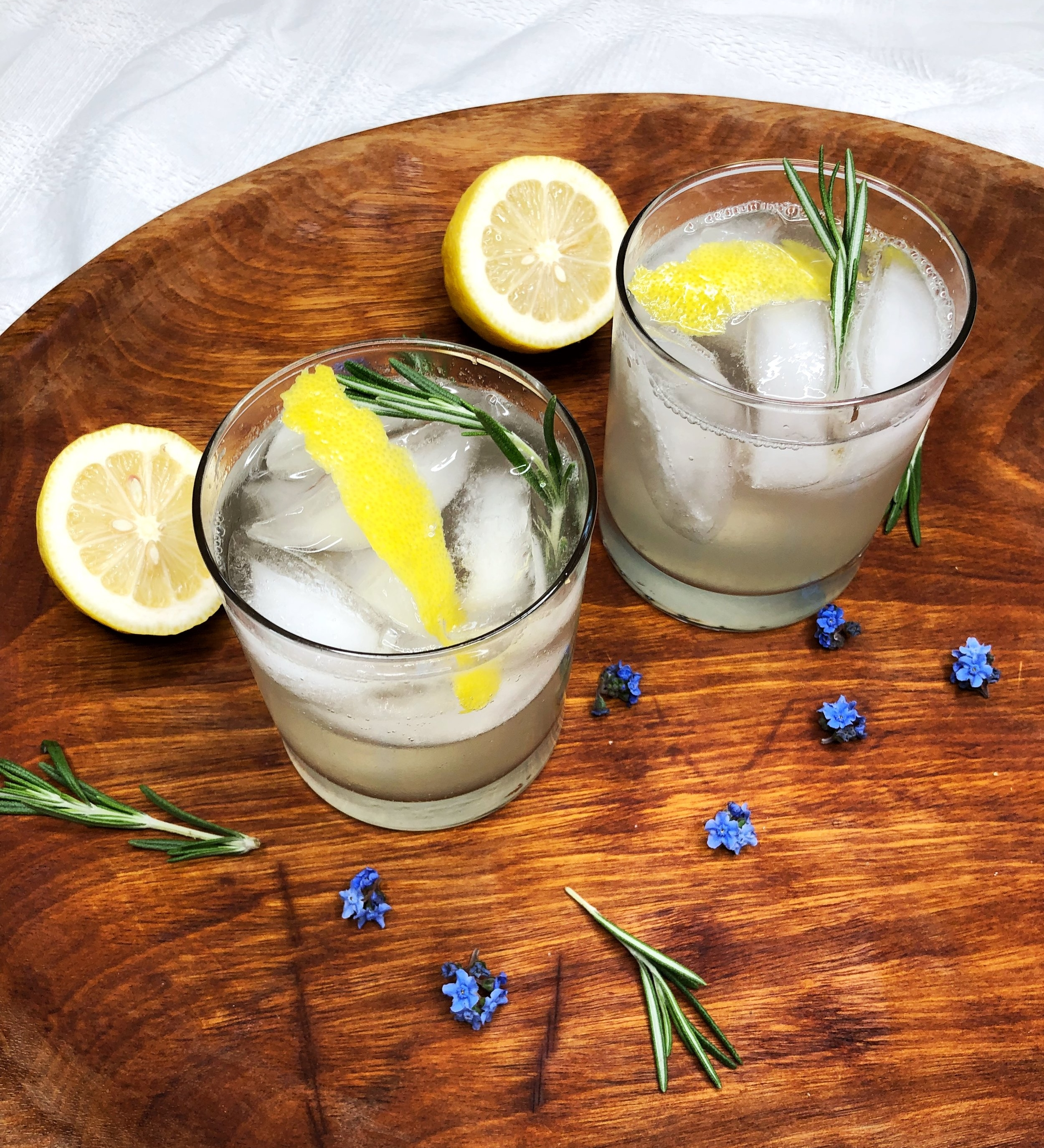 Vodka Rosemary Spritzer