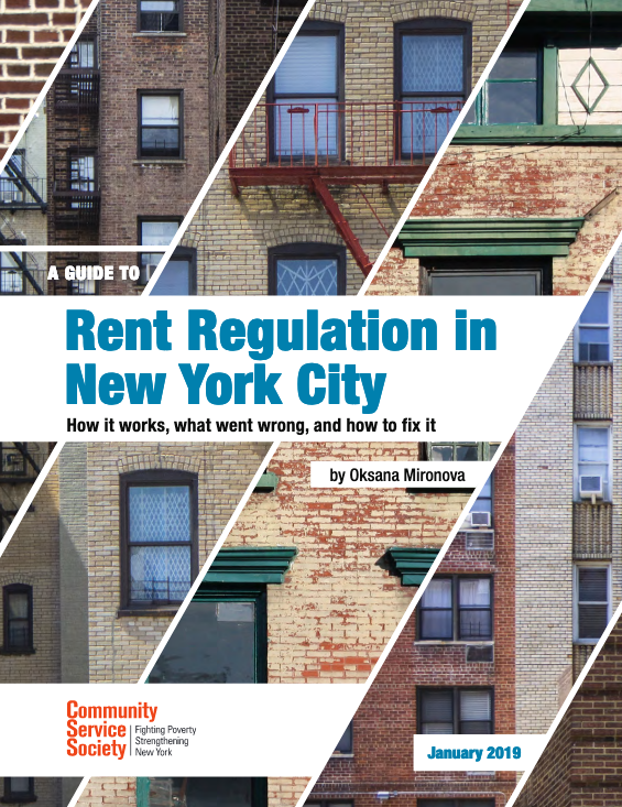 Rent regulation in NYC - CSS, January 2019