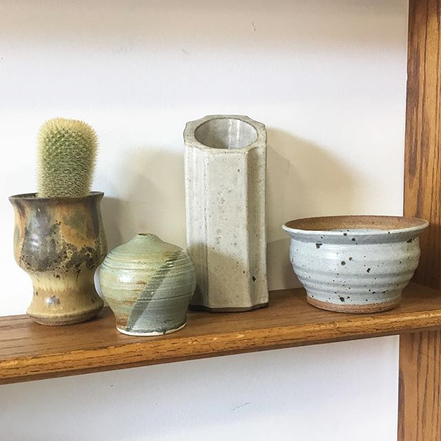 new studio pottery pieces. fun as a collection or on their own