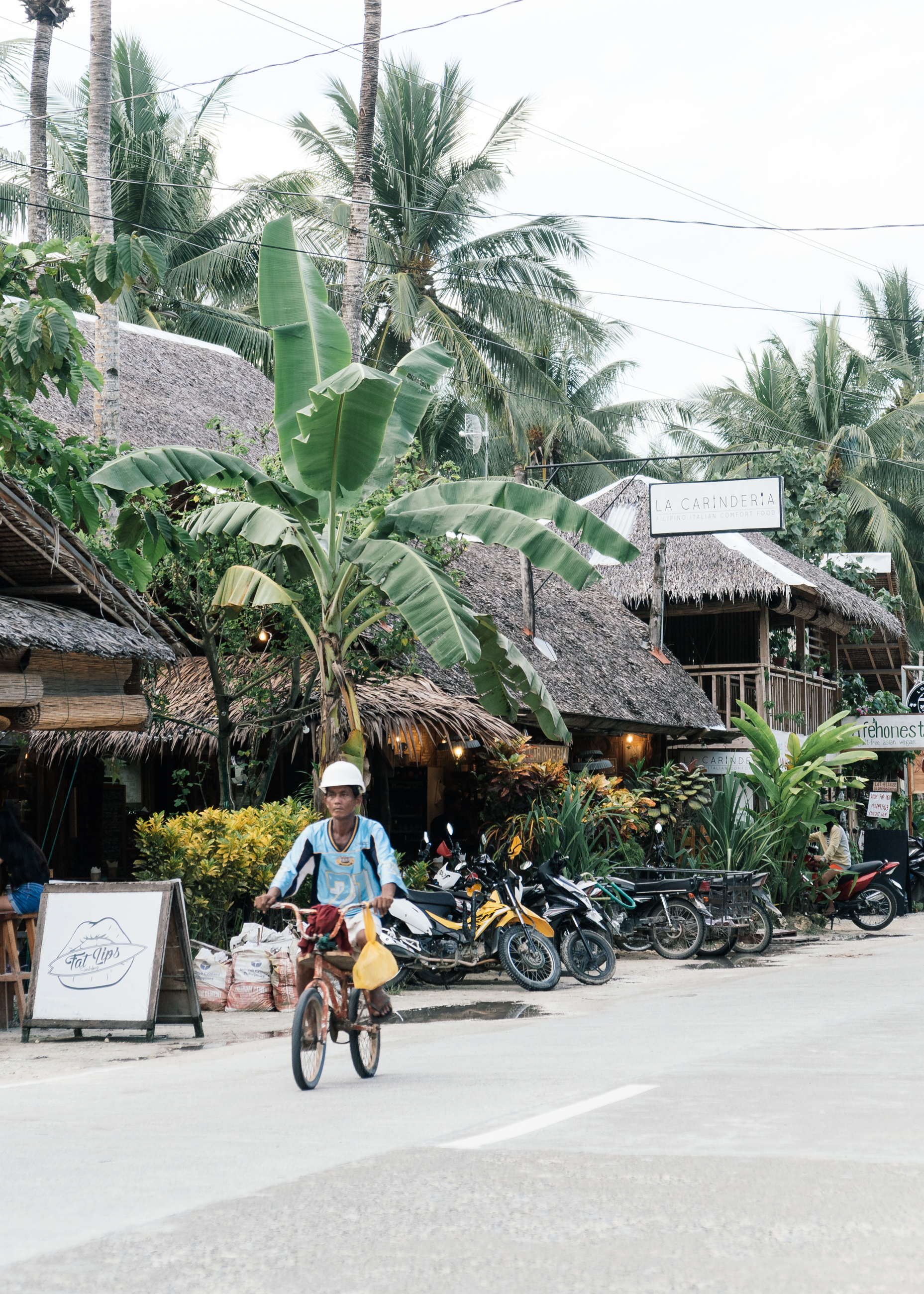 Town centre in Siargao Philippines