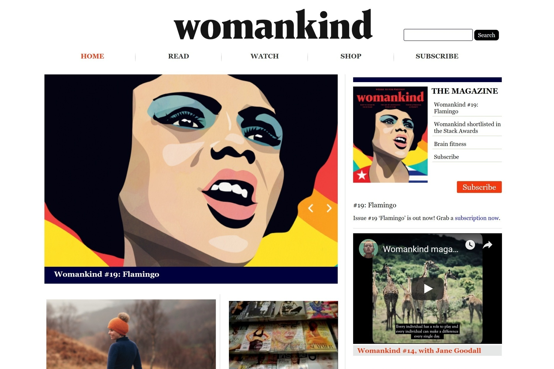 Best female website - Womankind