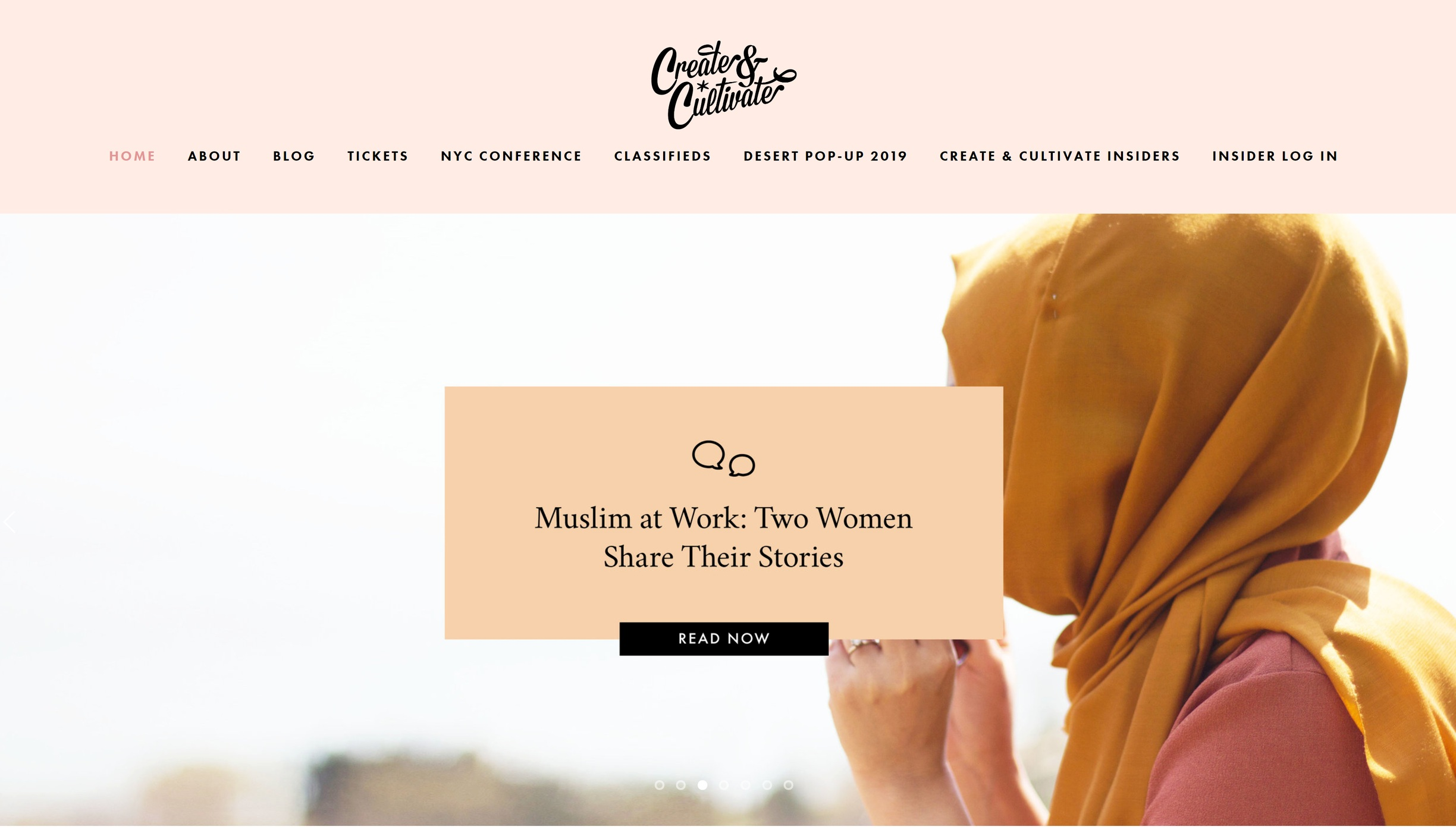 Create and Cultivate - Best website for Women Entrepreneurs