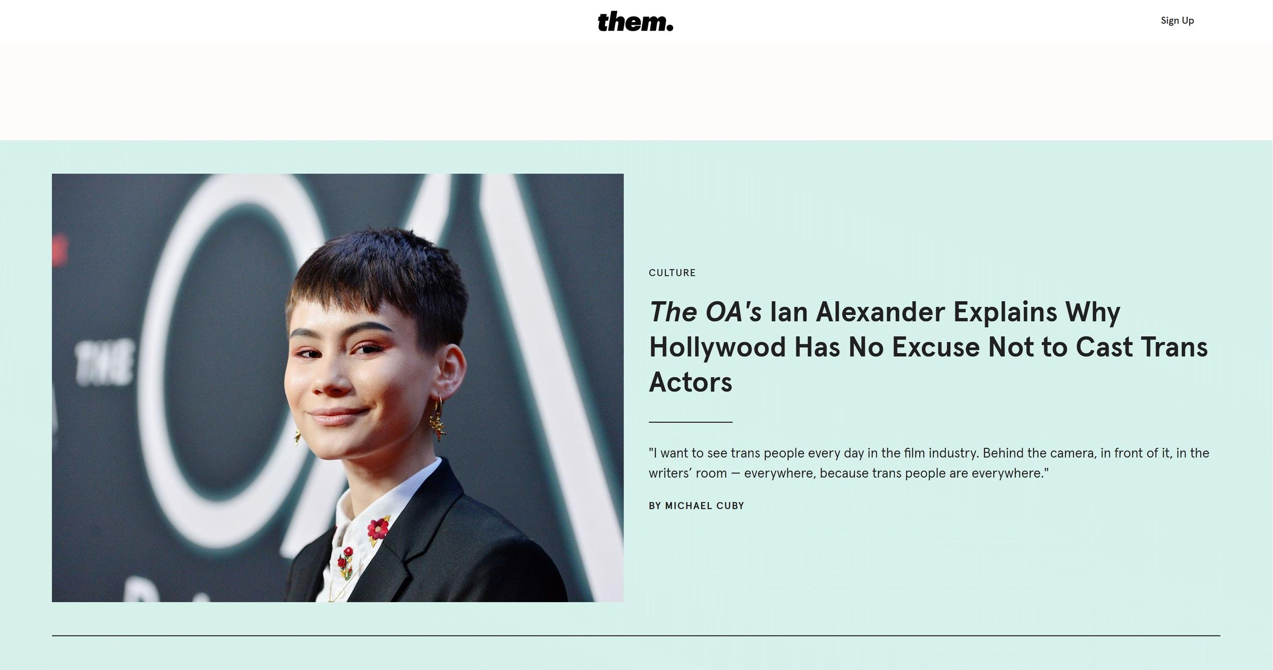 Best LGBTQ website - them