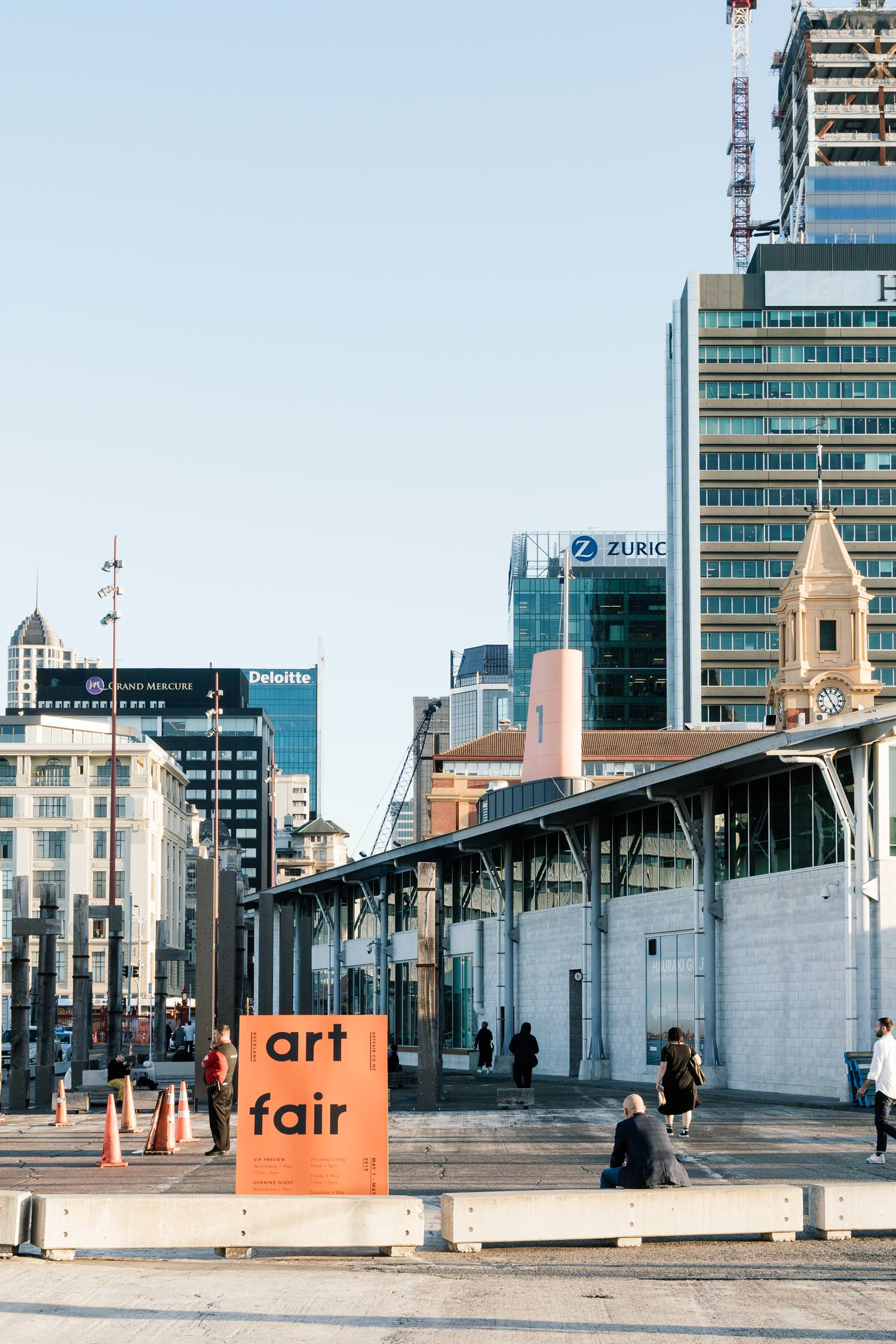 Auckland Art Fair at The Cloud, Queens Wharf