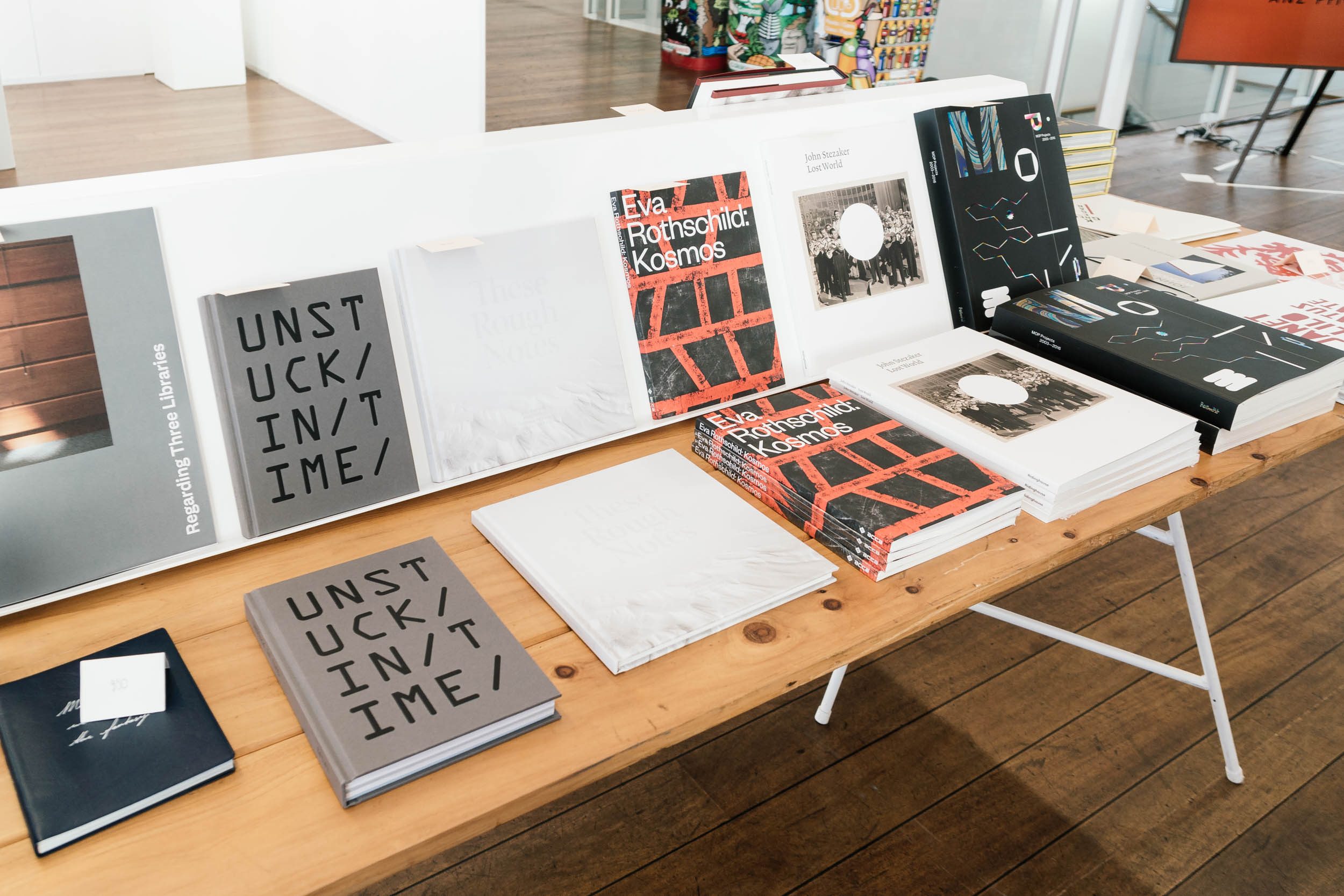 Art Bookshop at Auckland Art Fair 2019
