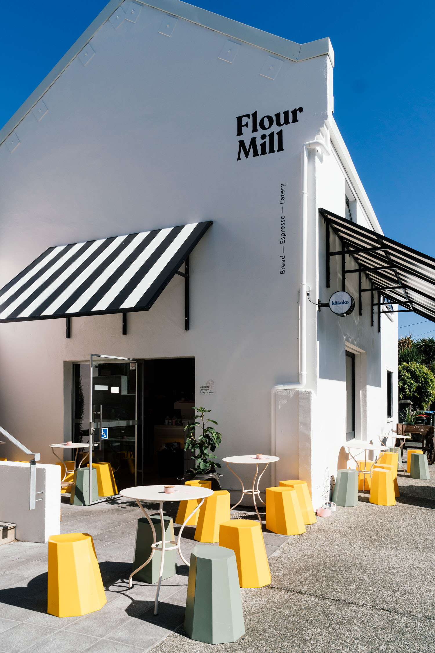 Flour Mill Cafe exterior