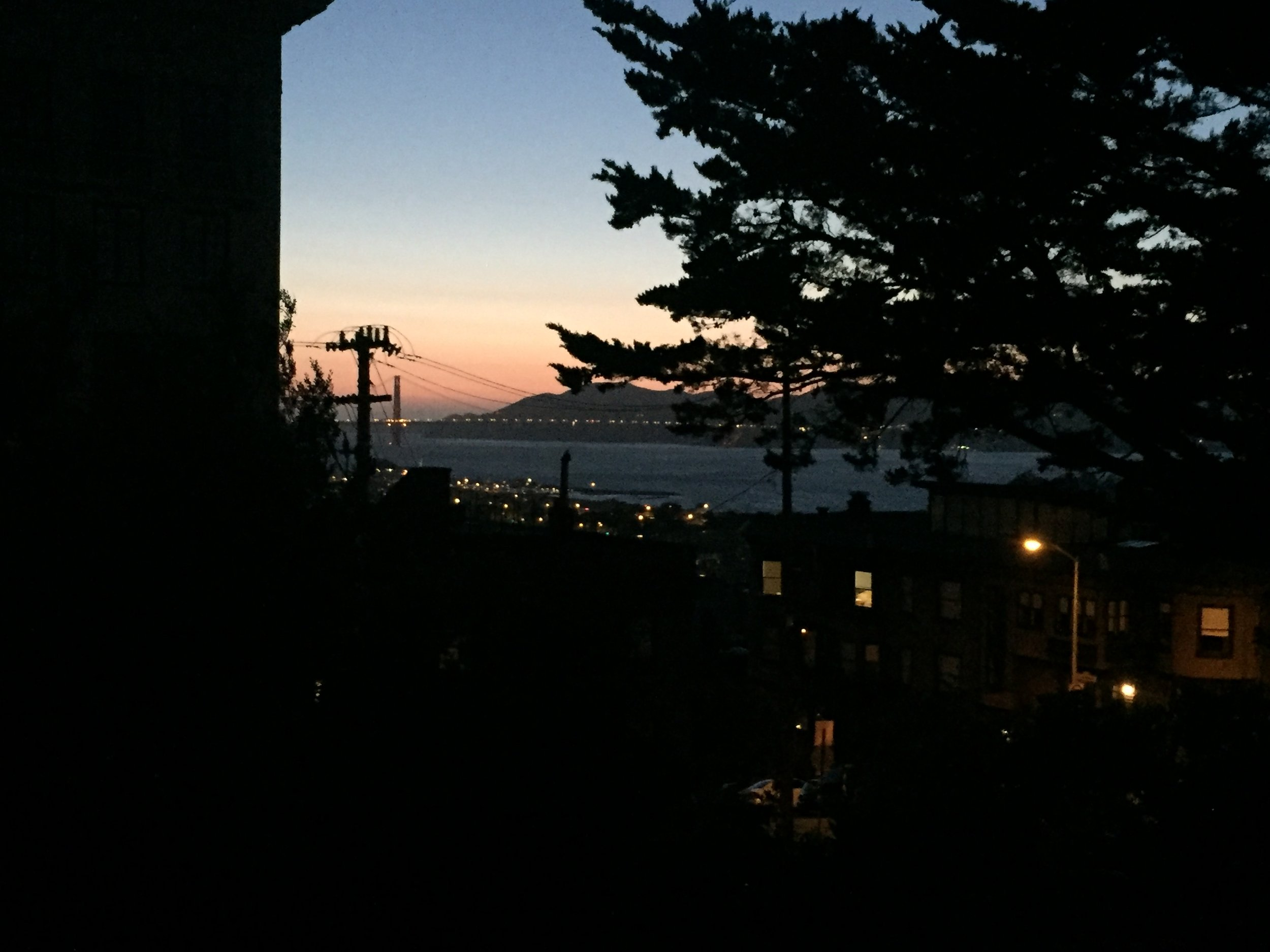 San Francisco evening