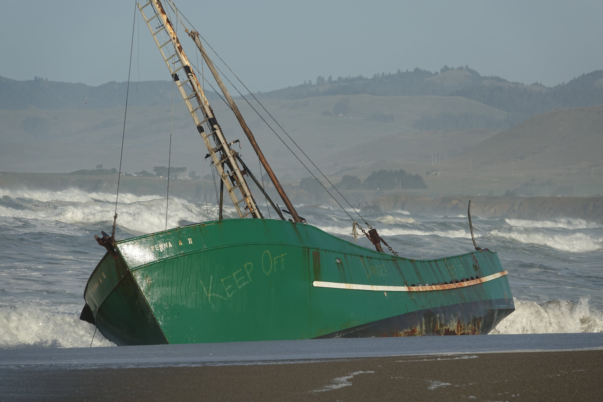Shipwreck  - Salmon Creek Beach
