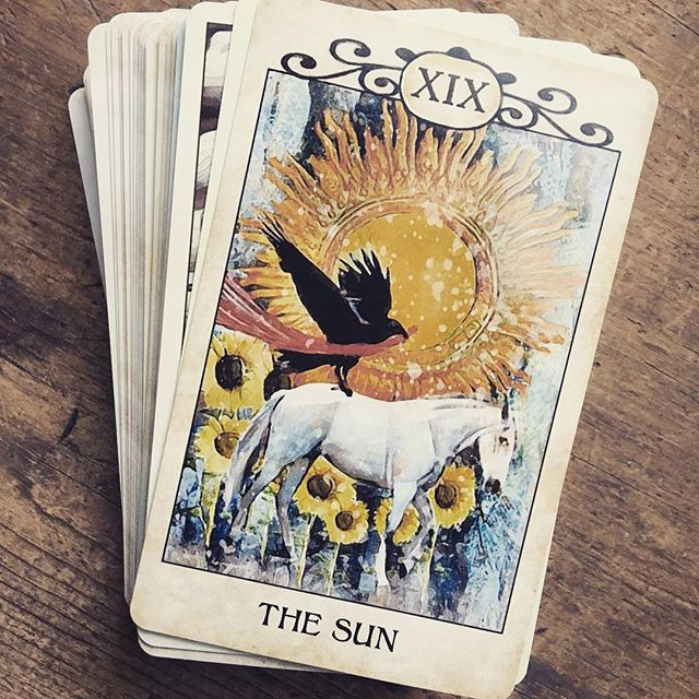 Sometimes the cards are so literal… Found out today we are going to Barbados again in March.🌞🌞🌞 . . . #tarottribe  #tarot #dailytarot #crowtarot #tarotreadersofinstagram #taroteverydamnday #divination #oracle #fortuneteller #cartomancy #tarotcards #oraclecards #pagan #pagans #pagansofinstagram #witch #witchesofinstagram #witches