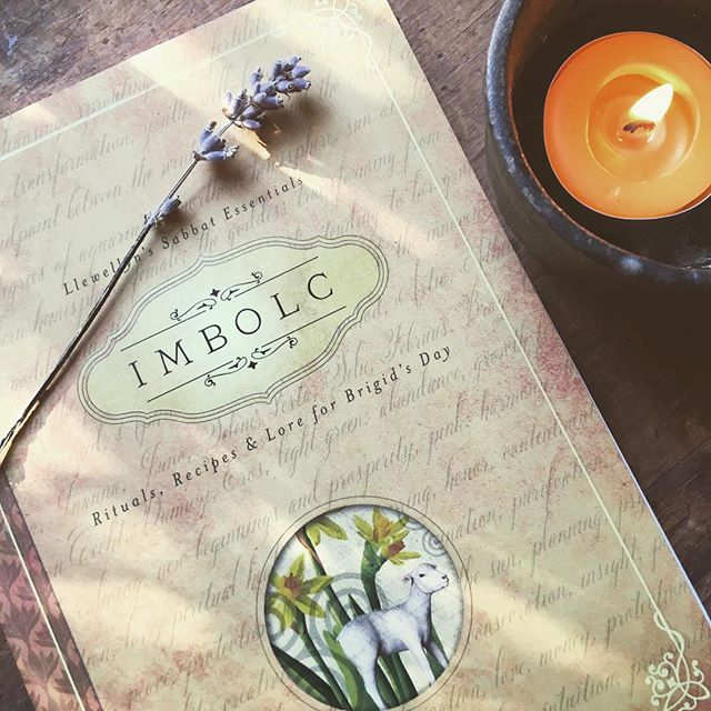 Just picked up this book in an attempt to get more into the Imbolc spirit; I just don't connect with it. I'm not a hot weather person and this day reminds me that winter's end is near. Sigh. I'm especially grumpy about it this year because we've had NO SNOW. At all. Very unusual for my neck of the woods. At any rate, preparing for some weekend-long Imbolc activities… my usual candle making, setting up the Imbolc altar, and hopefully getting a few other ideas from this little book. The big celebration will be on Monday for astronomical Imbolc which coincides nicely with the New Moon. A powerful day for magick. ✨🌖✨ . . . #celticpath #celtic #celts #celticpagan #sabbats #wheeloftheyear #imbolc #pagan #pagans #pagansofinstagram #witch #witchesofinstagram #witches