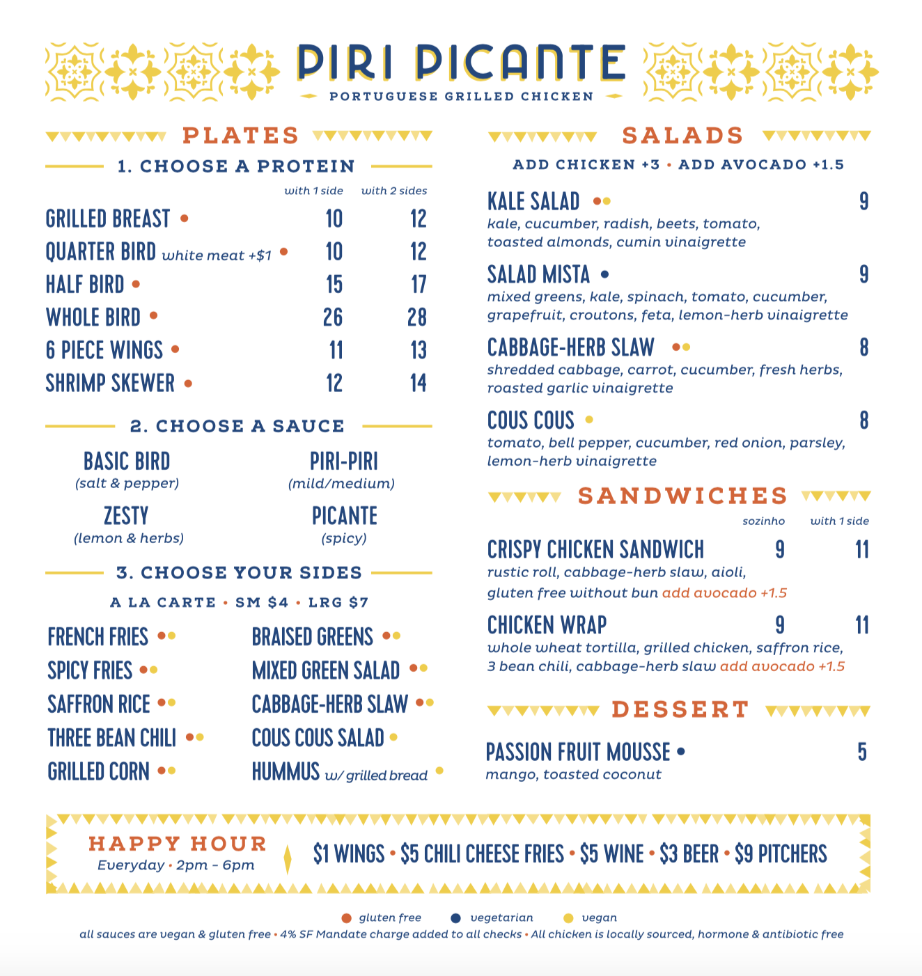 Click here for PDF of menu