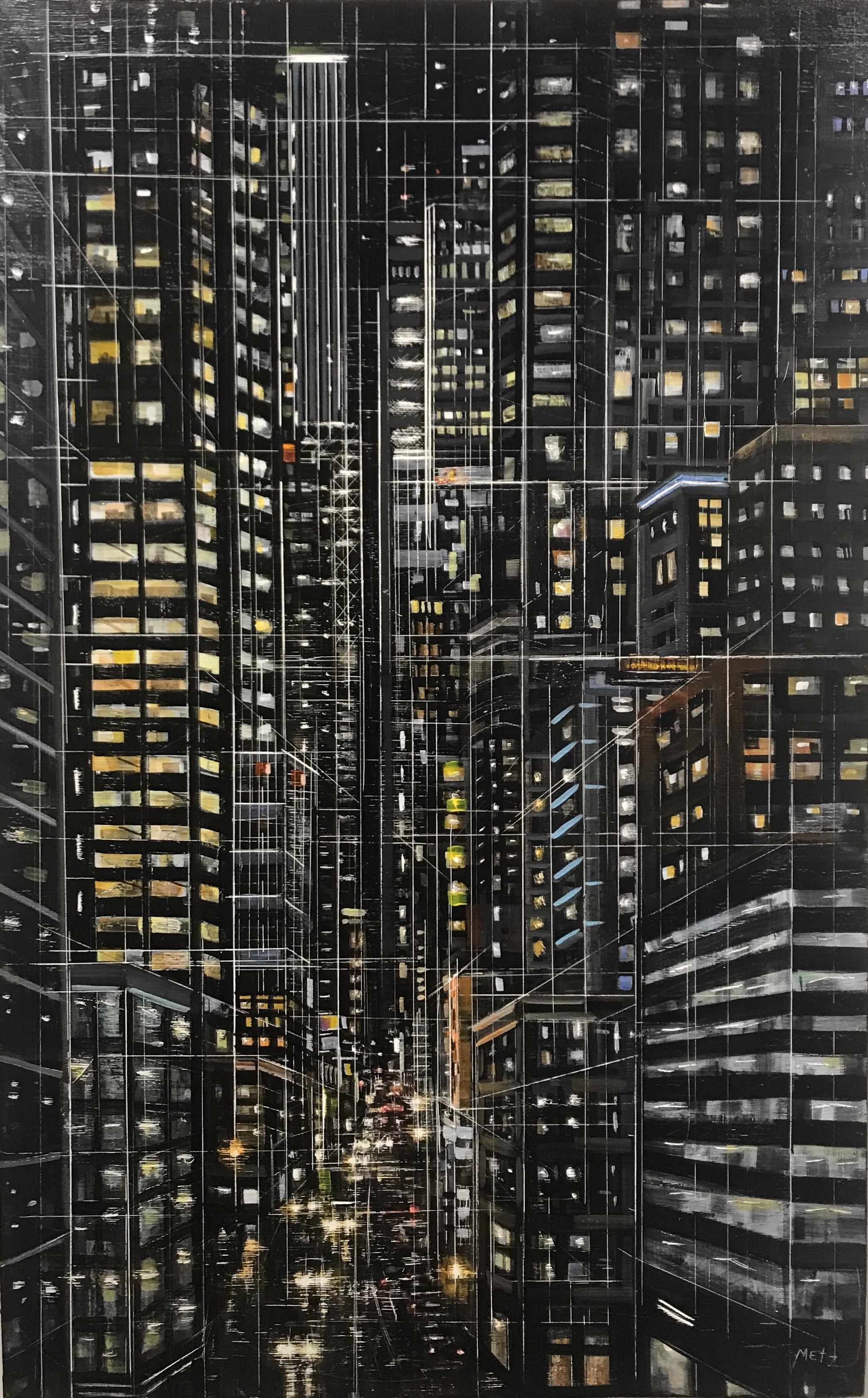 City Darshan 22 46x29in acrylic on panel 2018.JPG