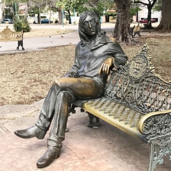 John Lennon Park & sculpture, Havana, Cuba