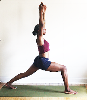 utthita ashwa sanchalanasana. (high lunge pose)