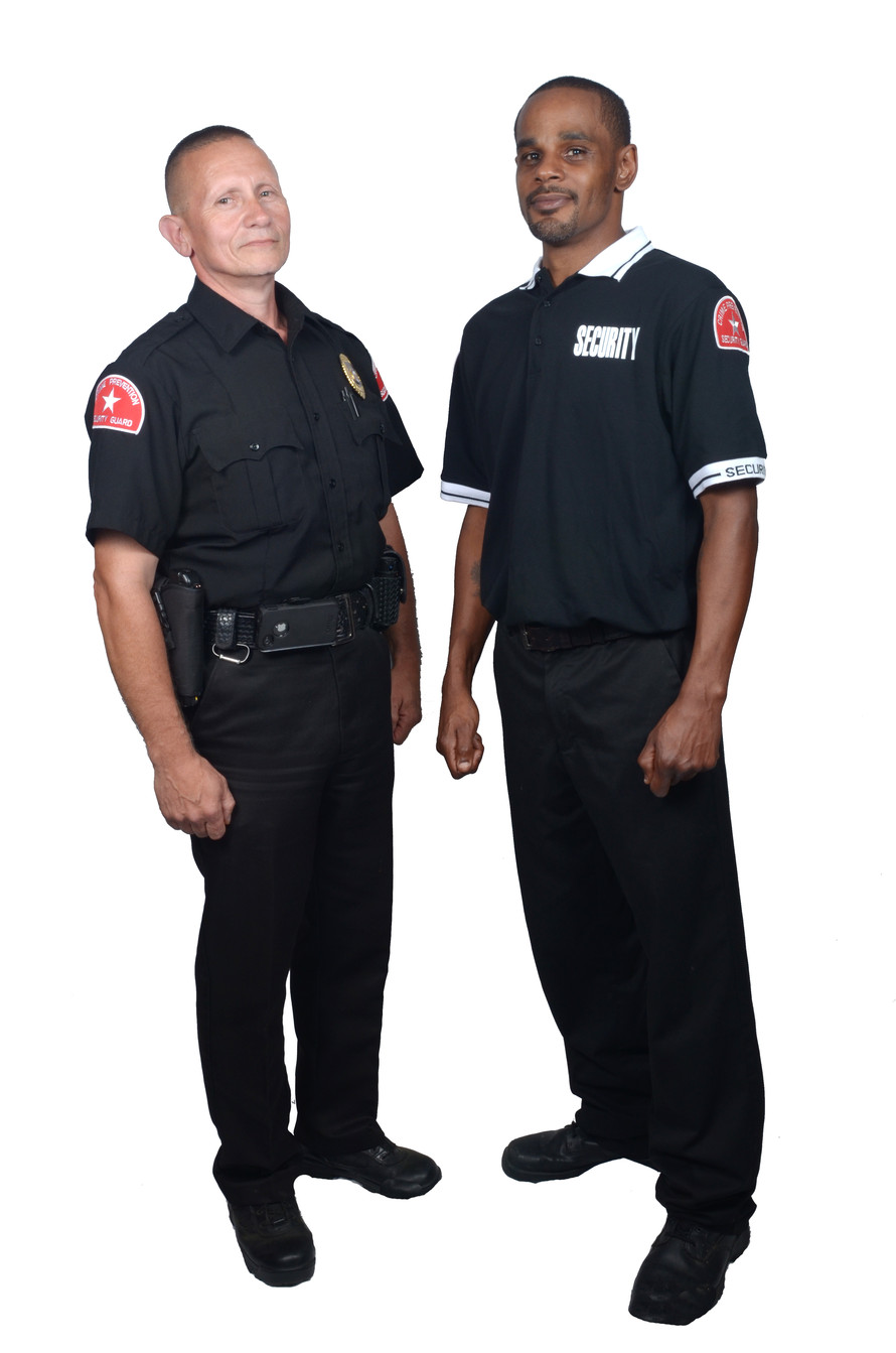 "We  are the engineers of high value security solutions for our clients    We   understand, enjoy, and stay within our roles as ""Security Officers.""    We   work with local Law Enforcement Officials    We   work with our clients to provide the most professional services possible    We   are a local company that works with and supports local companies"