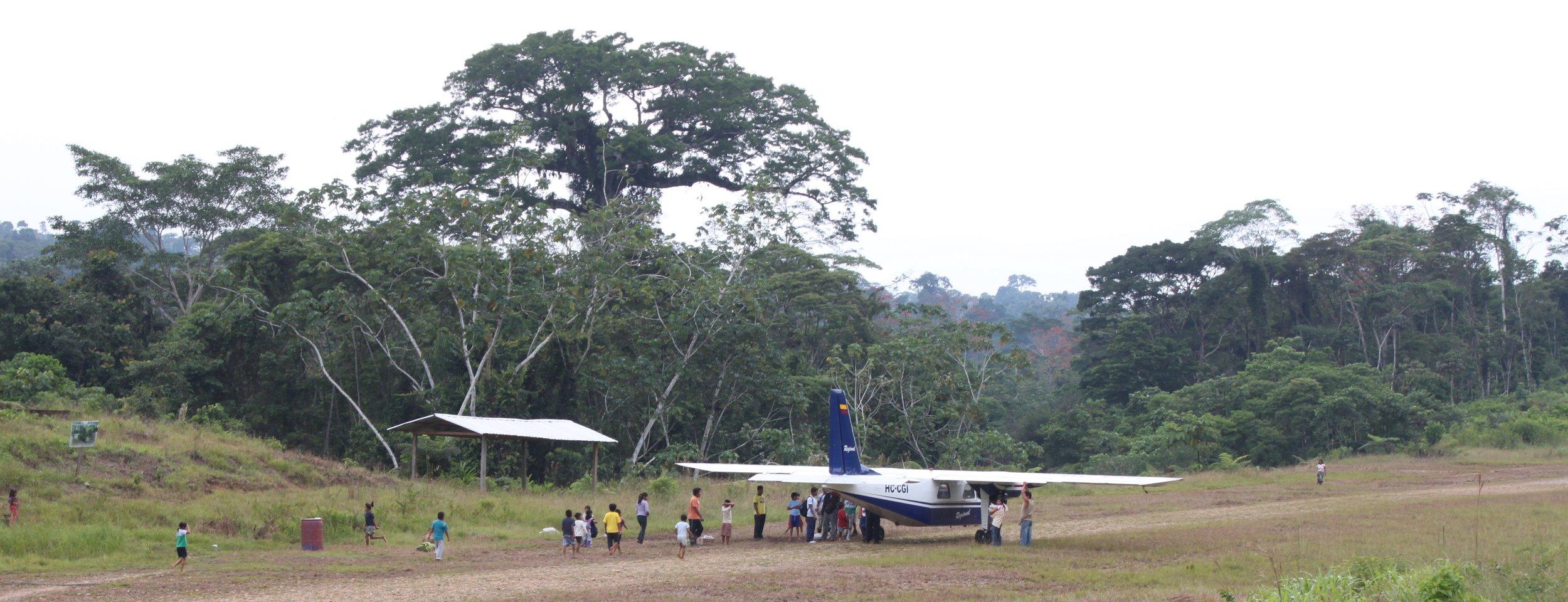 Sapara territory, Ecuador, Amazonia