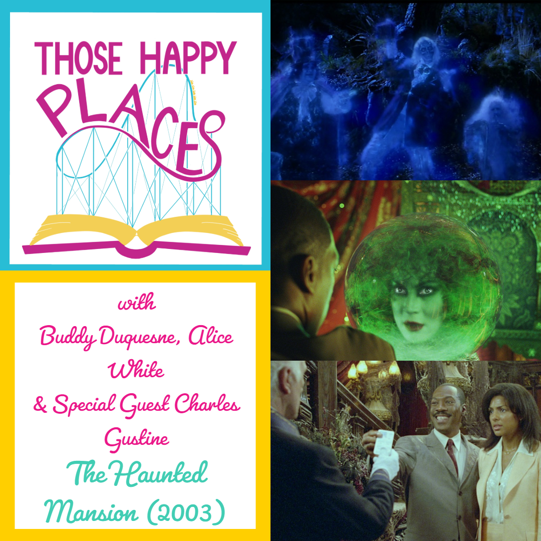Watch Party The Haunted Mansion 2003 With Charles Gustine Those Happy Places