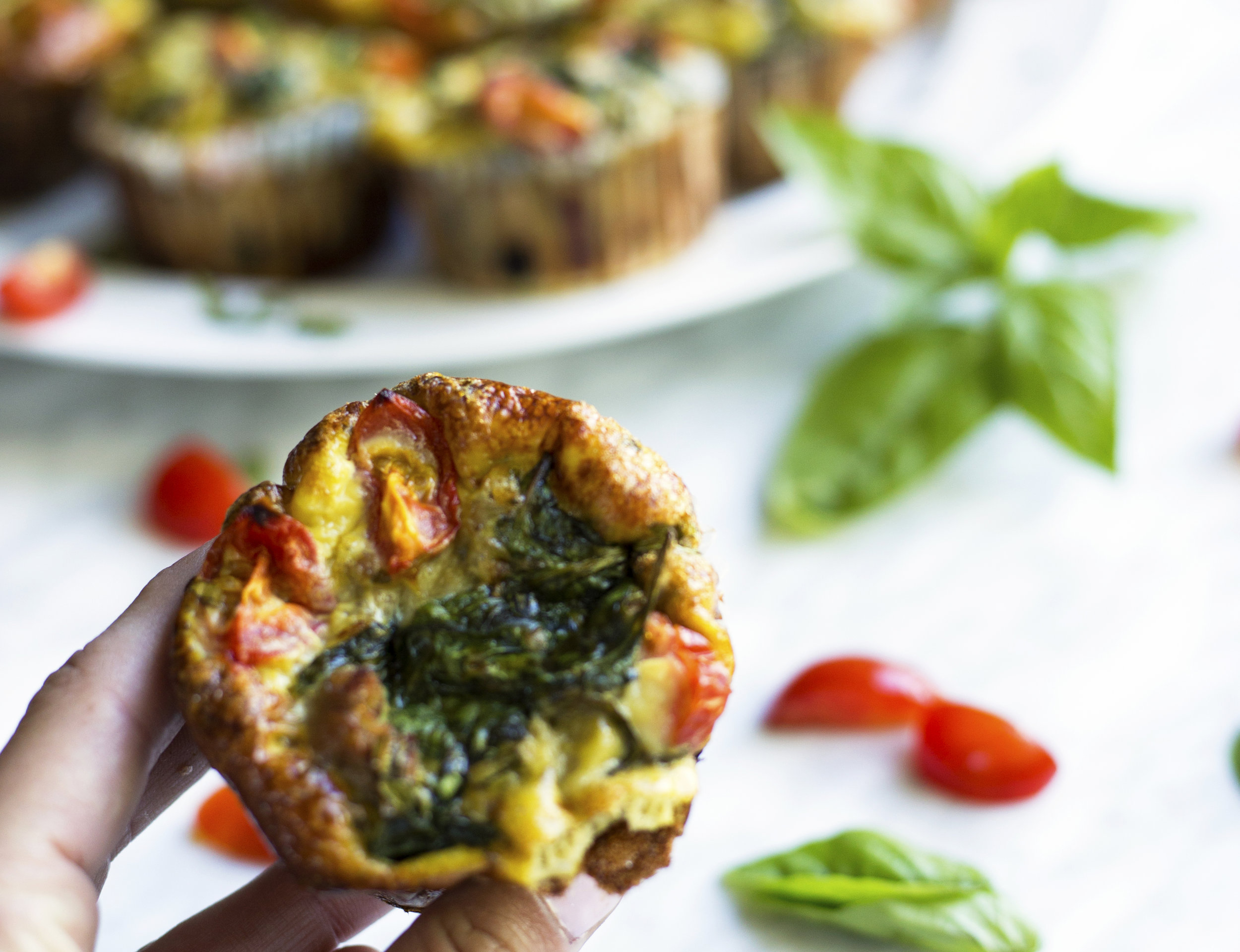 Quick easy egg muffin recipe, paleo, gluten free and whole 30 friendly