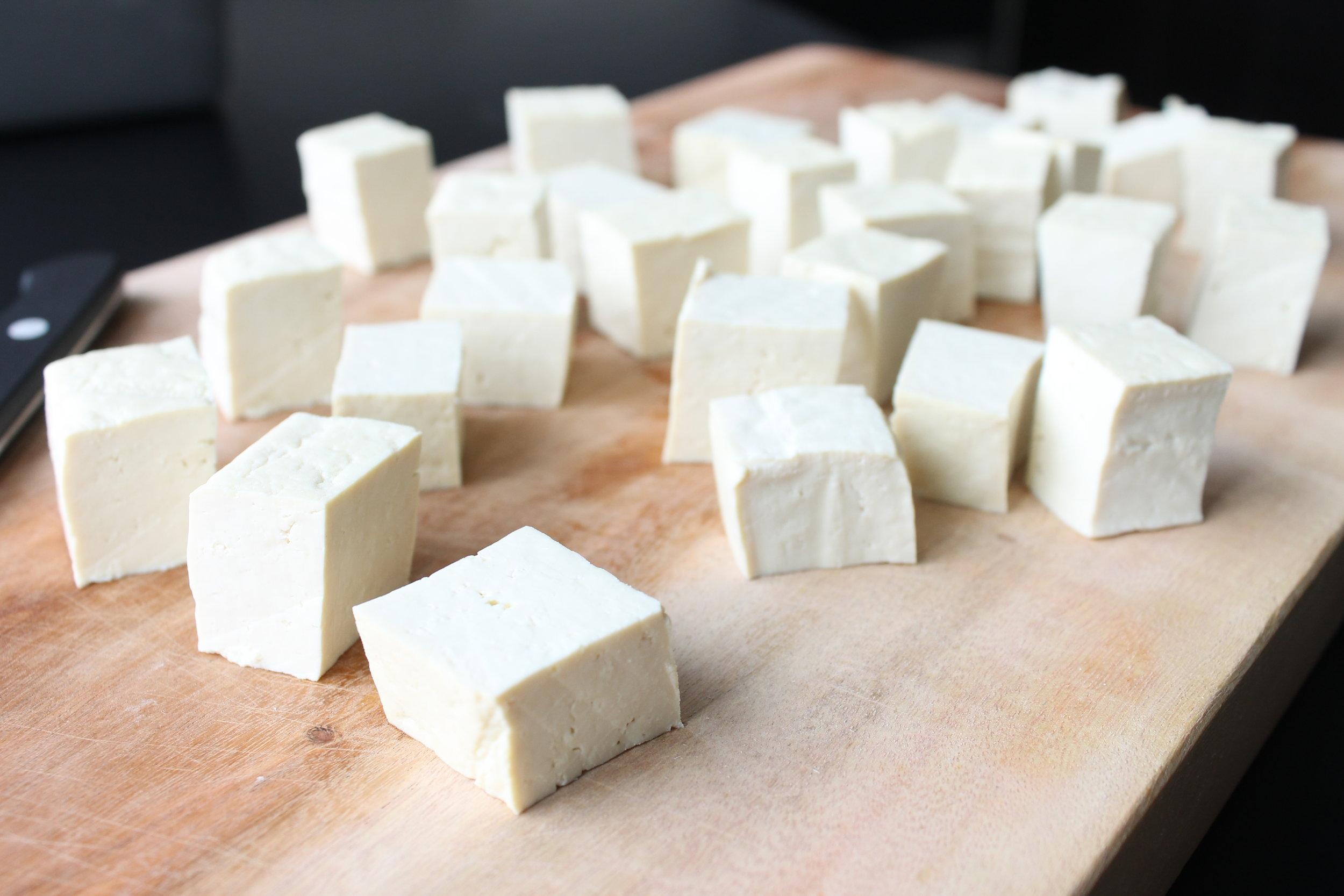 how to make tofu crispy