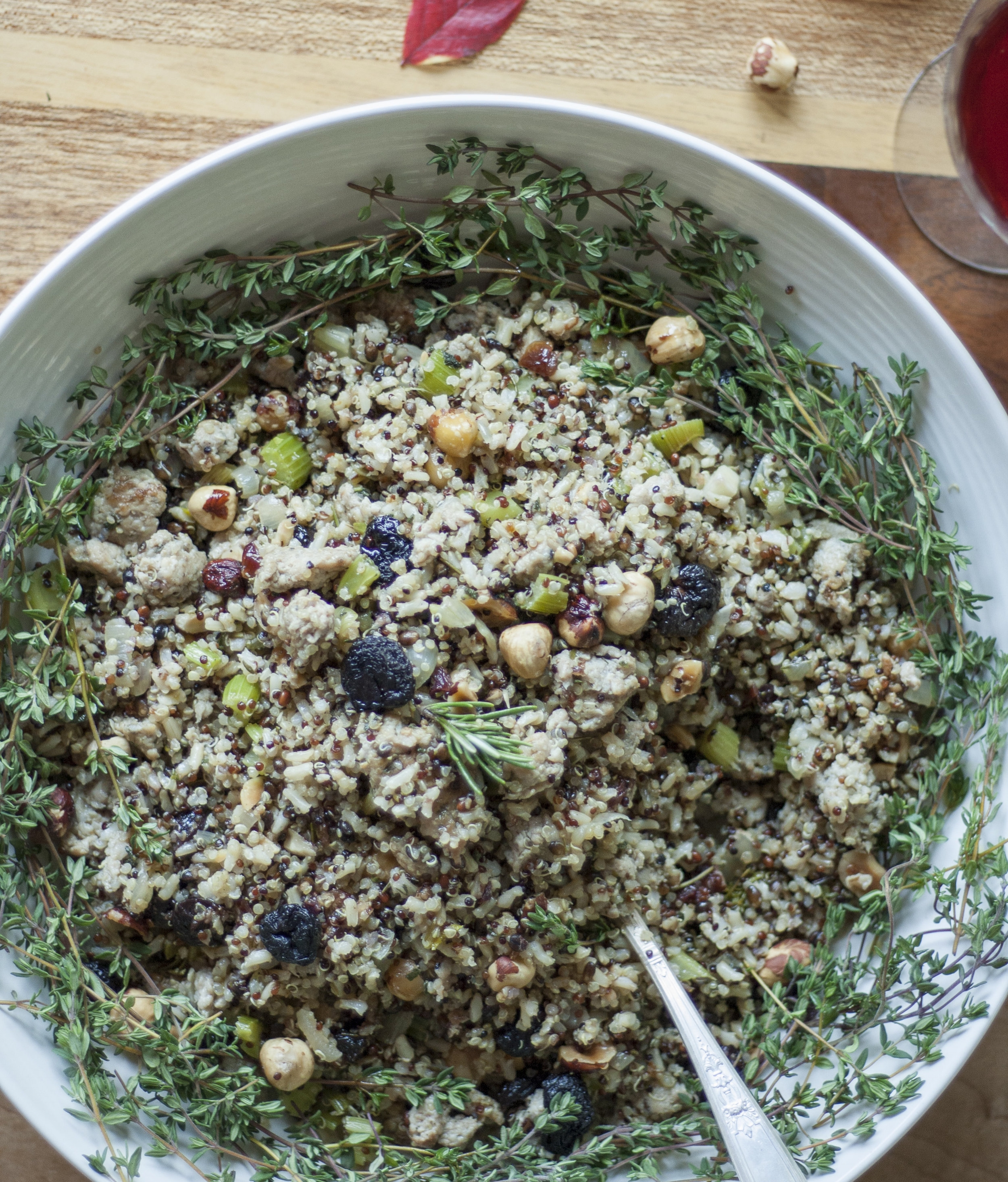 Healthy Thanksgiving Stuffing Recipe by Alavita Nutrition