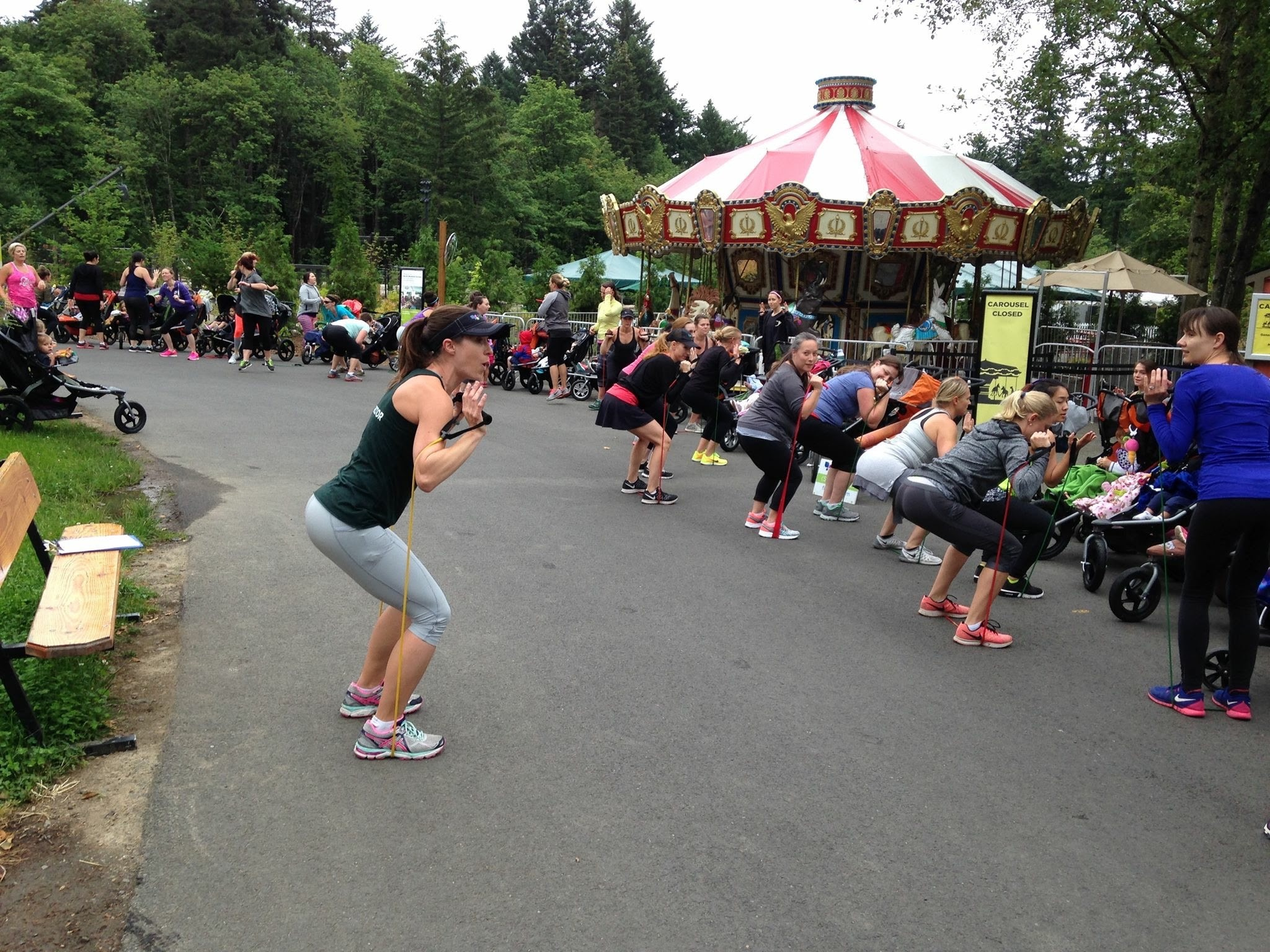 Fit4Mom workout