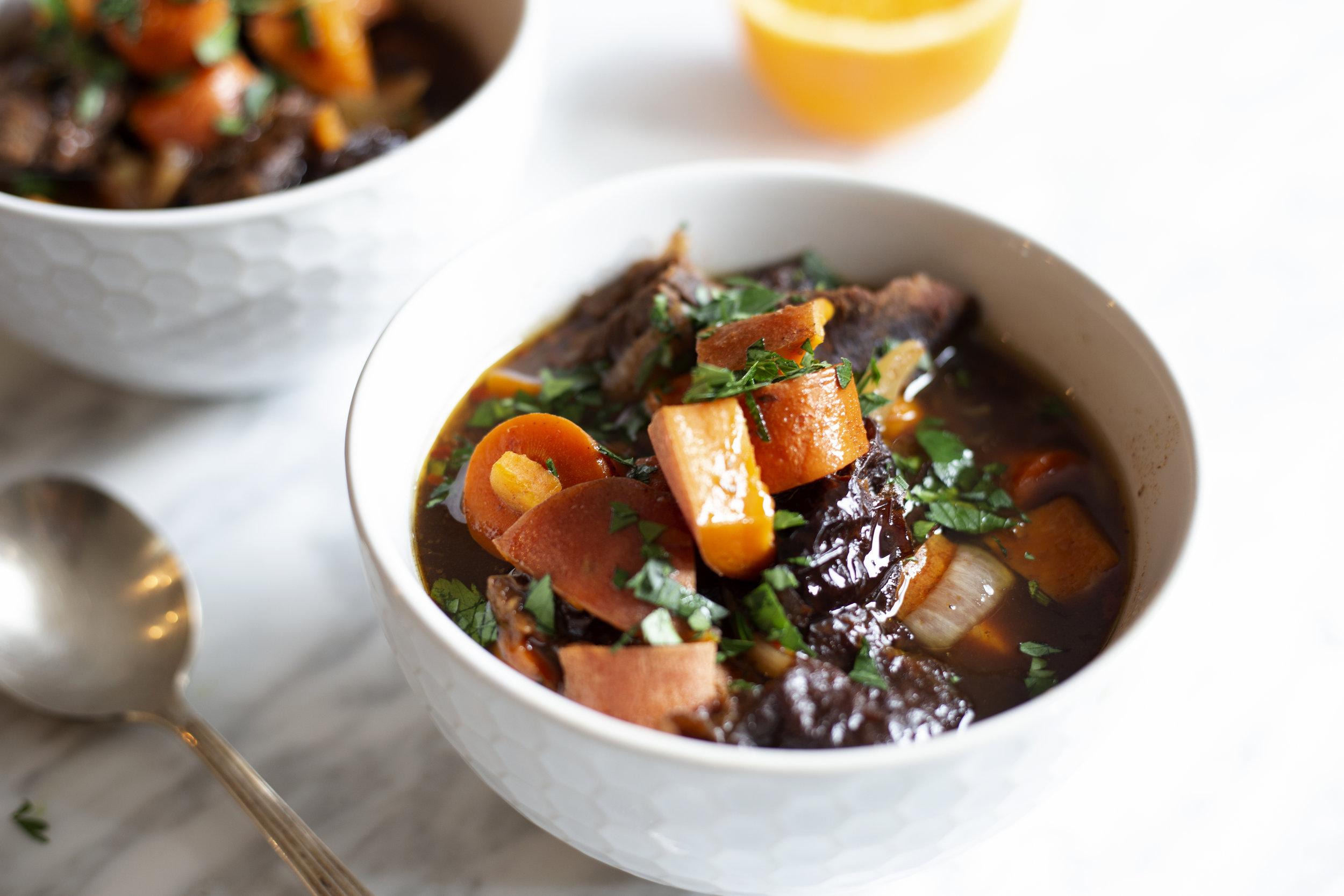 Healthy Slow Cooker Grass-Fed Beef Stew by Alavita Prenatal Nutrition