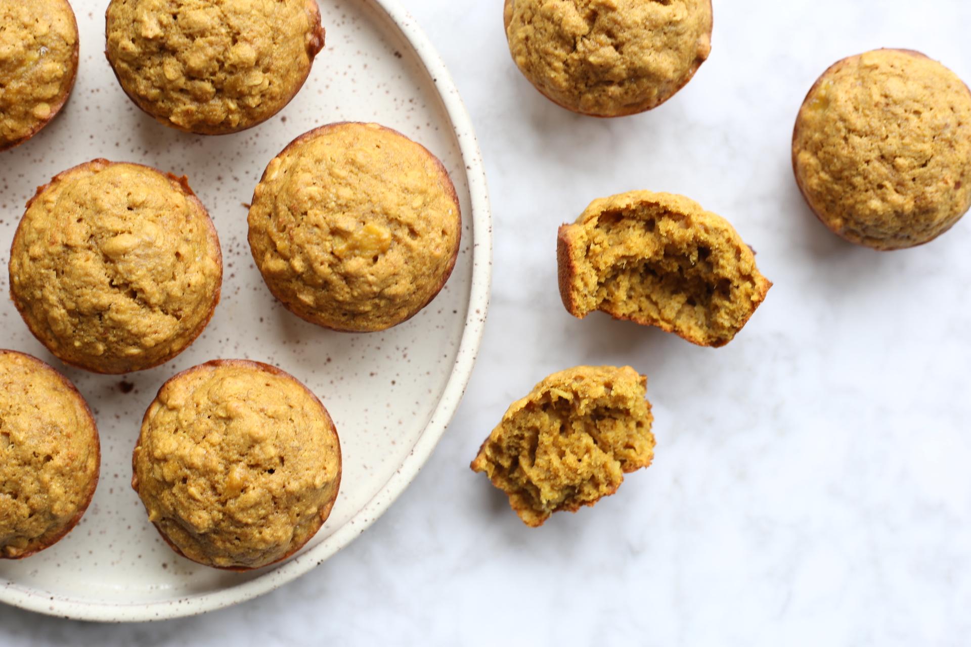 majka lactation boosting whole wheat banana muffins