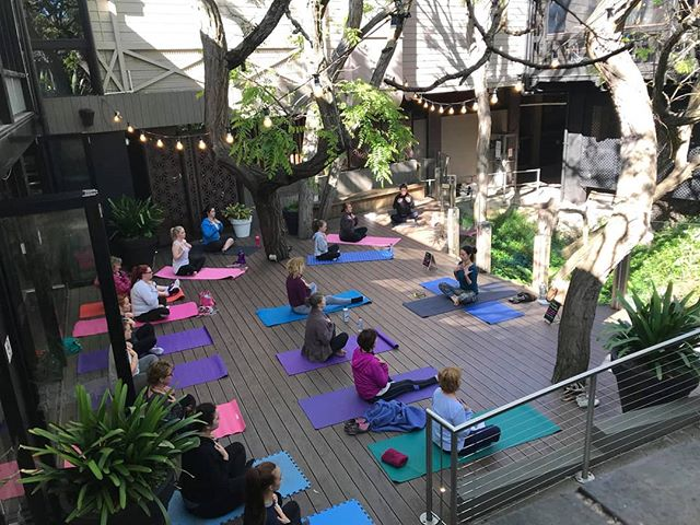 Join us for yoga on the deck every Sunday from 8pm! Click the link below for more info & to book your session.