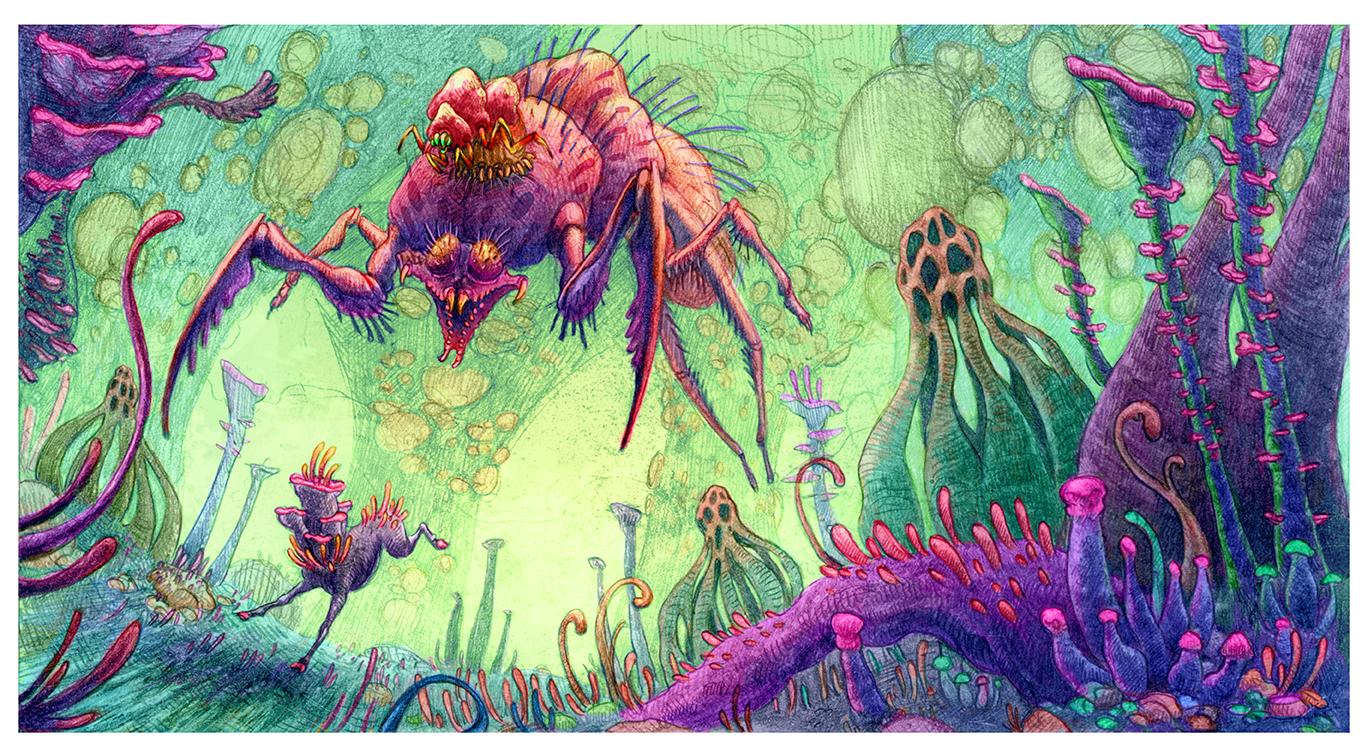 Combat Parasite Illustration