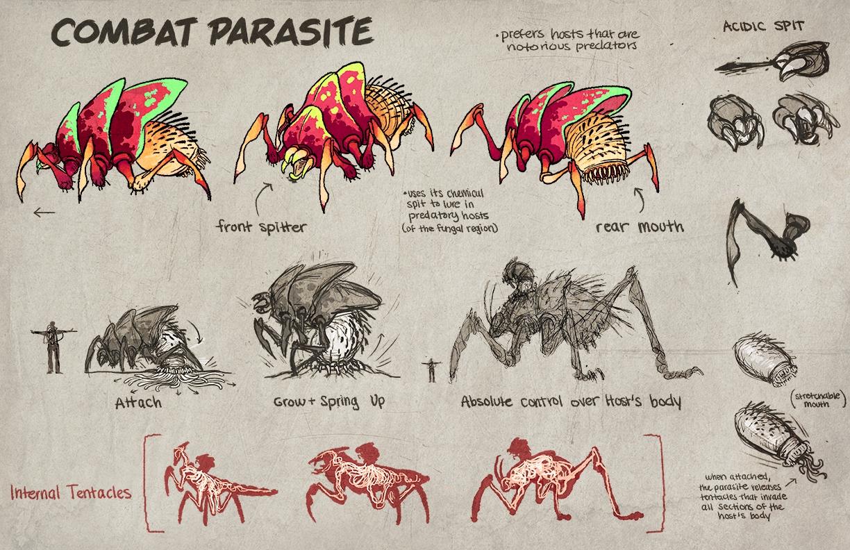 Combat Parasite Character Sheet