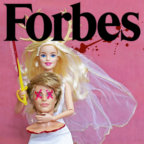 Trophy Wife Barbie FORBES