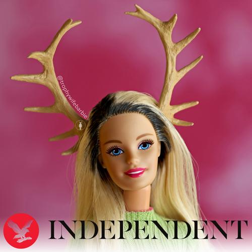 Trophy Wife Barbie INDEPENDENT