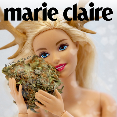 Trophy Wife Barbie MARIE CLAIRE