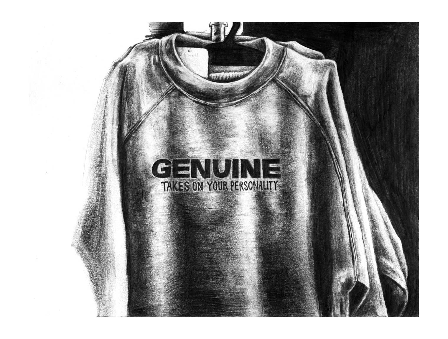 Genuine : Takes On Your Personality    Lead on paper