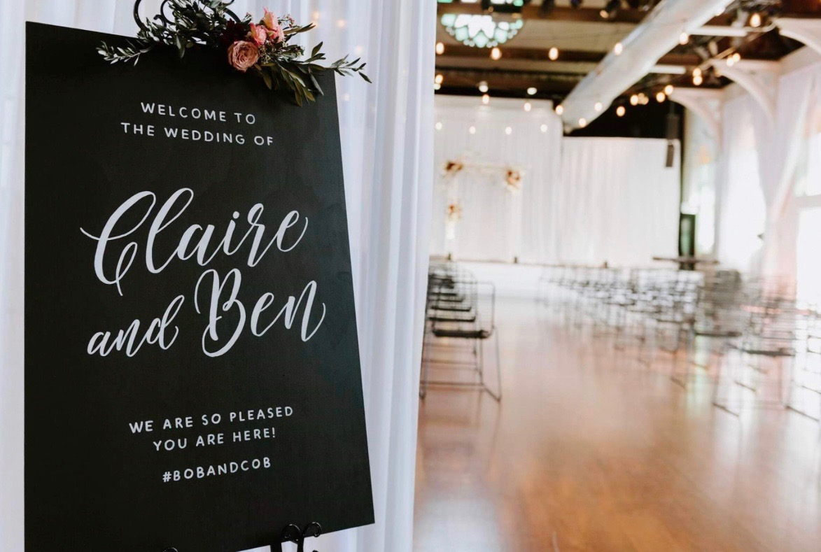 Romantic wedding sign.JPG