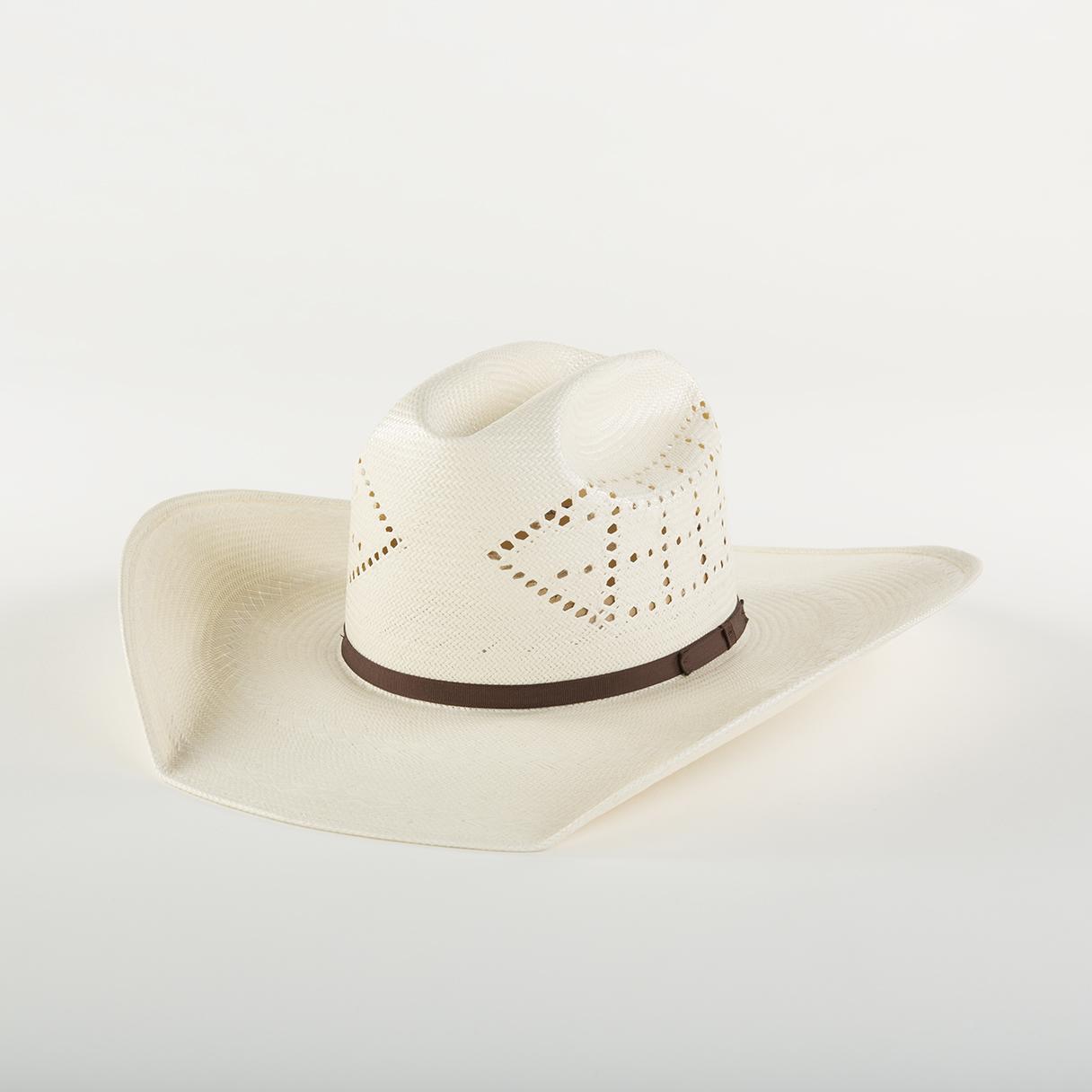 Hex Ivory - Ivory Shantung, brim width 3 - 5 inch.