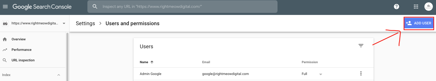 Google search console add a user step 3.png