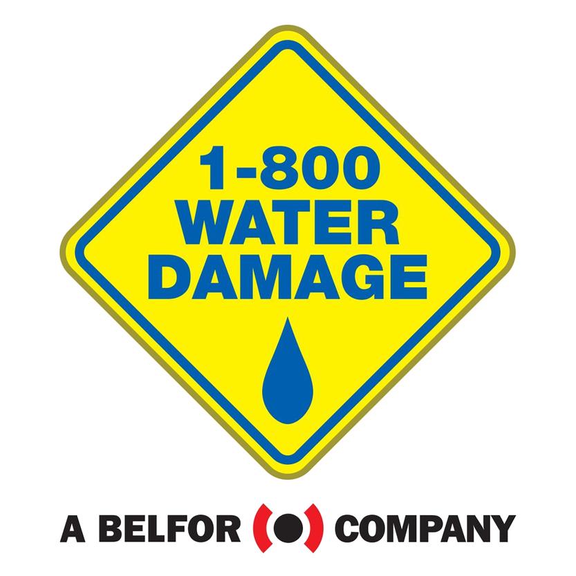 1-800 Water Damage Logo