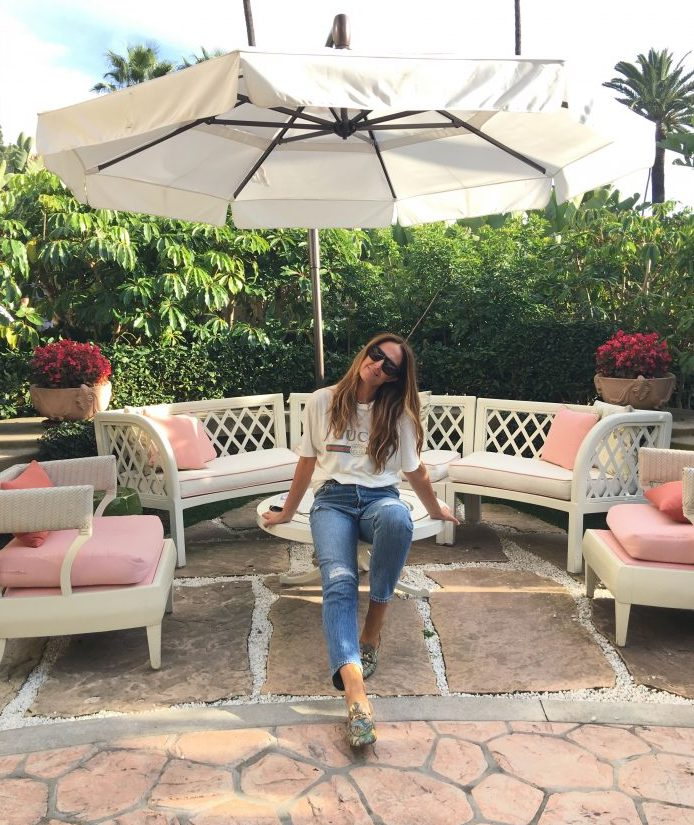 At the Beverly Hills Hotel