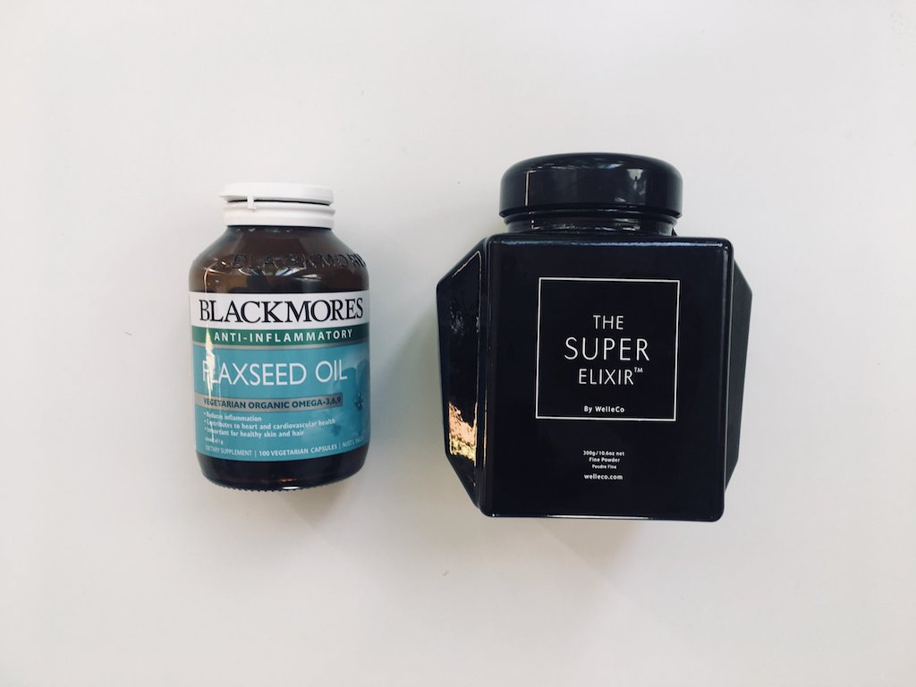 BLACKMORES - Flaxseed Oil  /  THE SUPER ELIXIR - Daily Greens