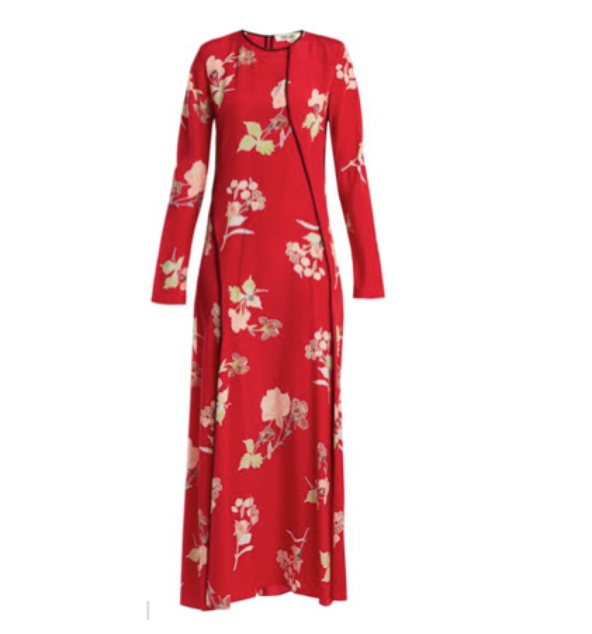 Wearing Colour - Diane Von Furstenberg