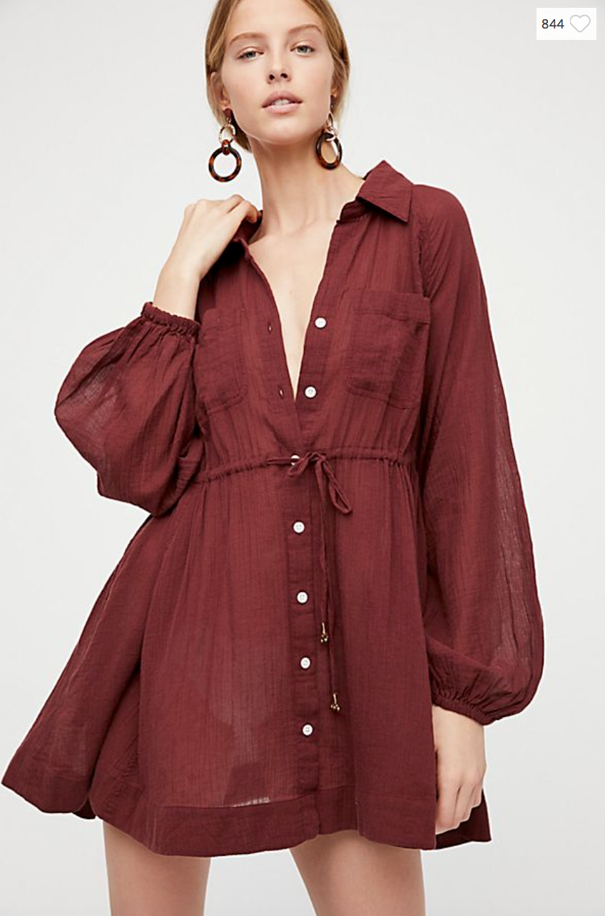 OVERSIZED SHIRT DRESSES